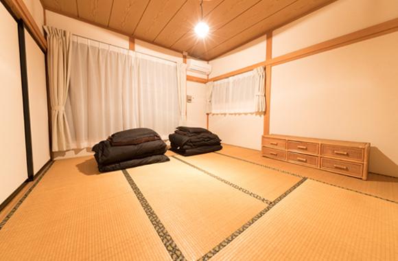 ゲストルーム 和室8畳×2