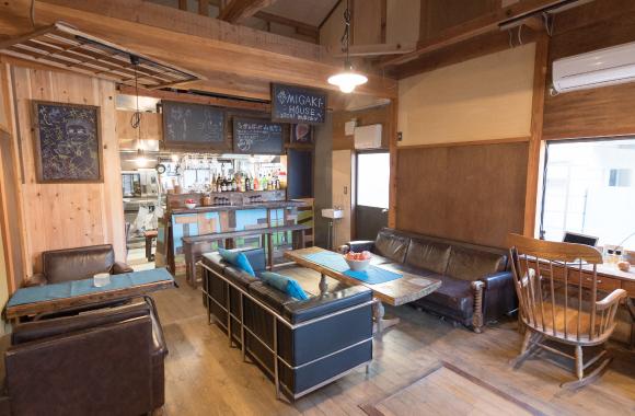 1F 本格派キッチン・カフェスペース